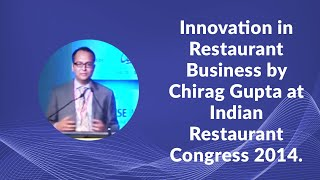 Innovation in Restaurant Business by