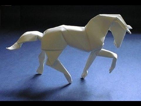 Как сделать лошадь из бумаги своими 122