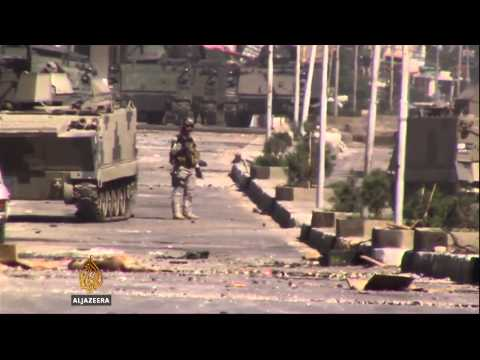 Army battles armed groups in Lebanese city