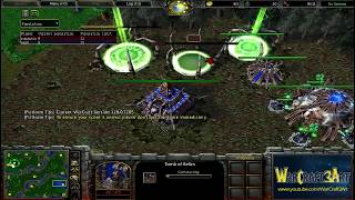 Romantic(HU) vs 120(UD) - WarCraft 3 Frozen Throne - RN3149