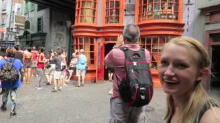 Universal Studios Vacation September 2016: Day 2, Pt 2 - Hogsmeade & Diagon Alley