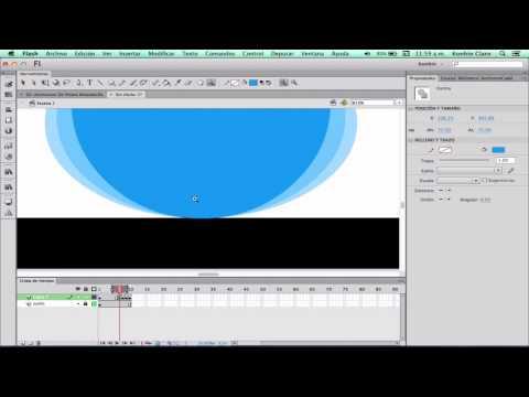 Curso De Animación Digital En Flash CS6 - 11 - Como Animar Una Pelota Botando