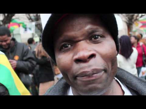 MDC Free Zimbabwe Global Protest London