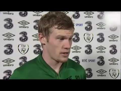 Republic of Ireland v Latvia - Post Match Interview - James McClean (15/11/13)