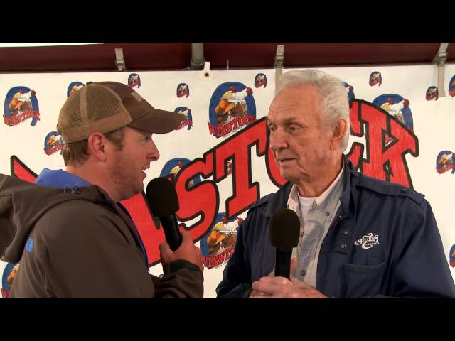 Chatting with Country Legend Mel Tillis at Winstock 2014
