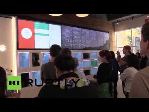 USA: This high-tech restaurant has replaced workers with iPads