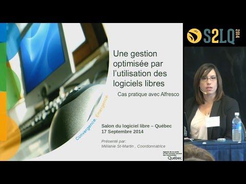 Les logiciels libres à l'Agence de la santé des Laurentides #S2LQ