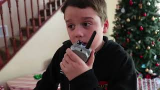 Nerf Pistoler - Jul Showdown Del 1! Nerf Blaster Sneak Attack Squad Holiday Battle!