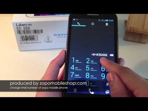 zopo guide solved invalid imei by change zopo imei number video step by step instruction