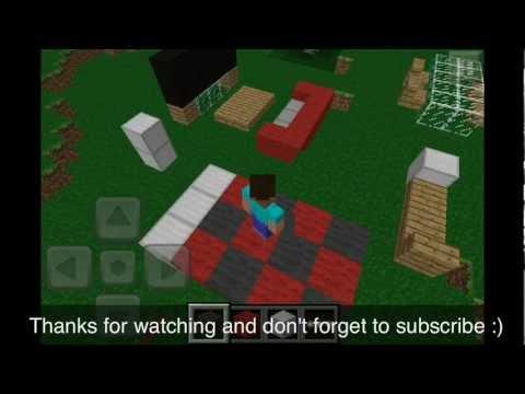 Minecraft Pocket Edition Basic Furniture