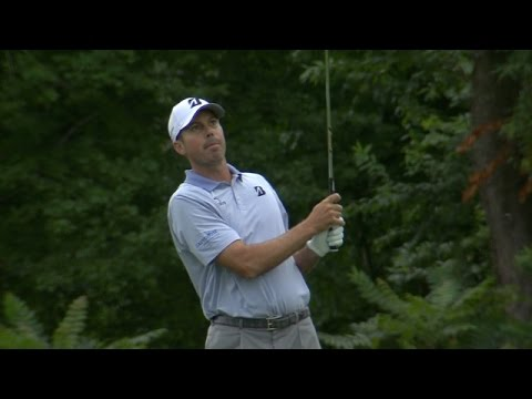 Matt Kuchar featured in LIVE@ The Barclays highlights from Round 2