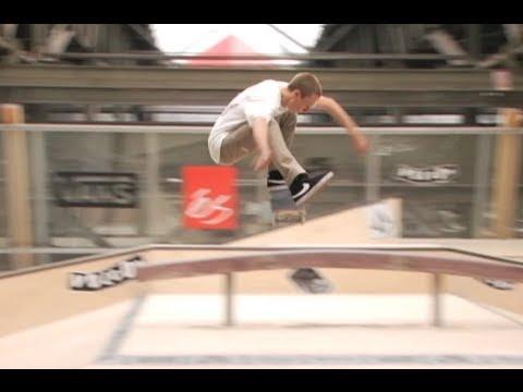 Grant Taylor, Justin Brock, David Loy skating Amsterdam