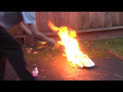 How To Make A Powerful Fire Extinguisher That Puts Out Most Fires - HD
