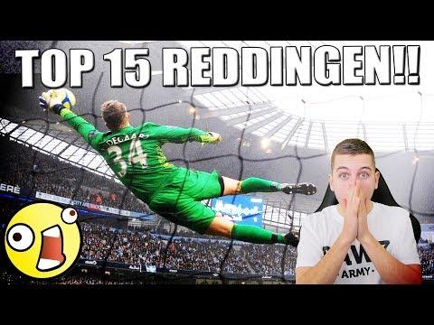 TOP 15 KEEPERS REDDINGEN ALLER TIJDEN IN VOETBAL!!