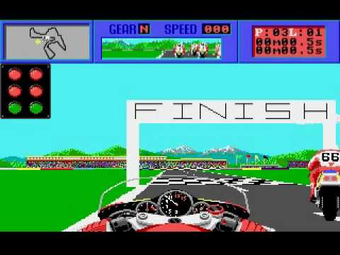 The Cycles Motorcycle Gp Racing Game By Accolade On Amiga