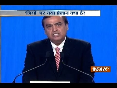 Reliance Jio's Free Voice And Data Offer To Continue Till March 31, 2017: Mukesh Ambani