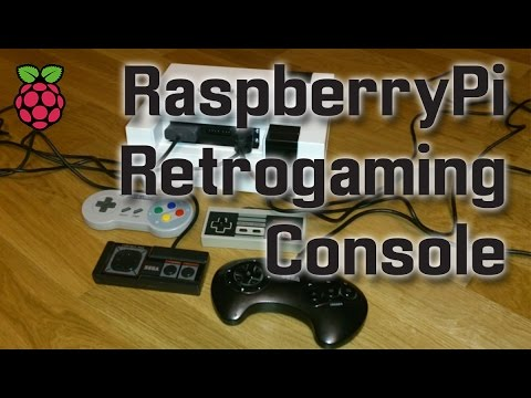 Raspberry Pi Retrogaming Console