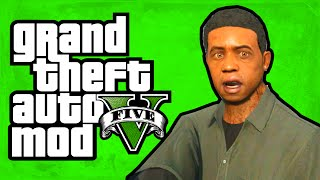 "GTA 5 - Play as Lamar! (Lamar Mod) [Mod Showcase] ""GTA 5 Funny Moments"""