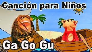 Canción ga go gu - El Mono Sílabo - Videos Infantiles - Educación para Niños #