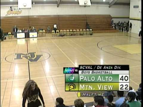 Palo Alto vs Mountain View Boys Basketball - Jeremy Lin Junior Year