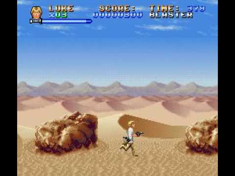 Super Star Wars (SNES) gameplay