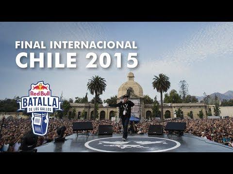 Red Bull Batalla de los Gallos - Final Internacional 2015, Santiago de Chile