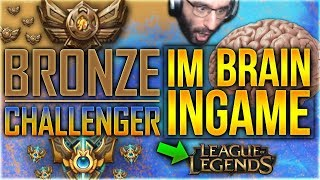Bronze im Brain Challenger Ingame! Das Experiment [League of Legends] [Deutsch /German]