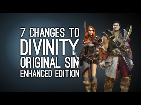 7 Changes in Divinity Original Sin Enhanced Edition - New Gameplay (PS4. Xbox One. PC)