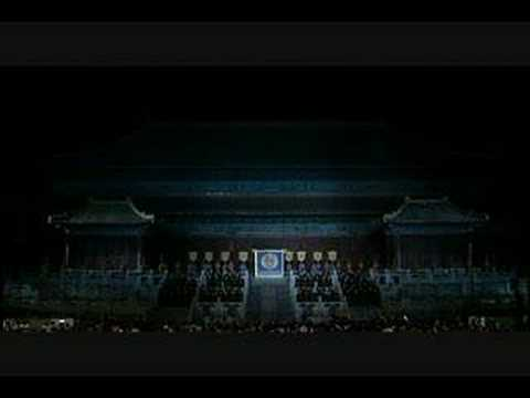 Turandot 1 in the Forbidden City of Peking China