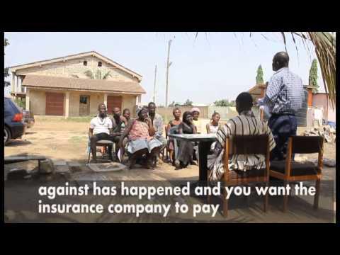 Peace Of Mind- A Micro Insurance Educative Movie (dagbani), Promigh,giz video