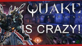 Quake Champions - This game is crazy! - September 2018 | DrLupo