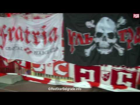 Crvena zvezda - Spartak Moskva 2017 |Рассчитывайте на нас| Рачунајте на нас