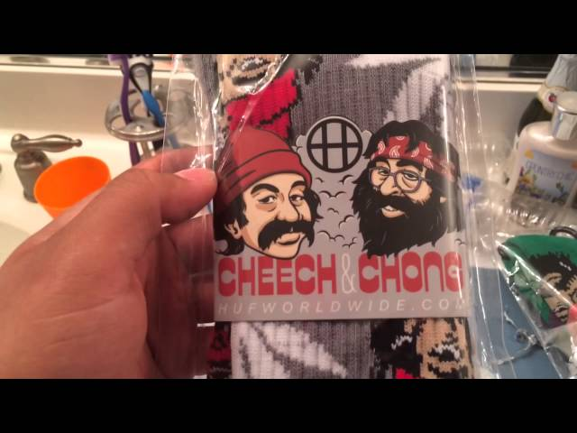 Huf Plantlife 420 Cheech and Chong pickup/unboxibg