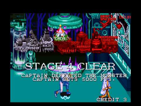 Captain Commando - Vizzed.com Play - User video