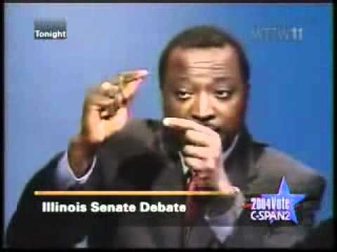 Obama Keyes Debate on Religion and Gay Marriage.wmv