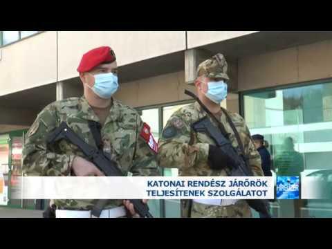 04 03  Katonai rendész járőrök Salgótarjánban