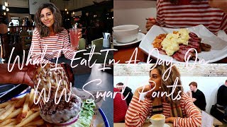 What I Eat In A Day On WW Weight Watchers Smart Points, CHESTER EDITION | Natasha Summar