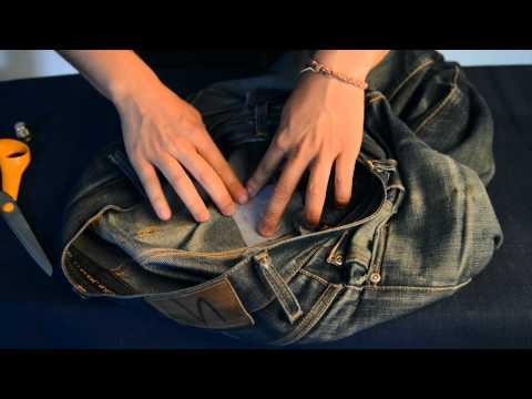 The Repair Kit – Repair your own jeans