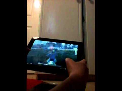 Gaming on the asus transformer