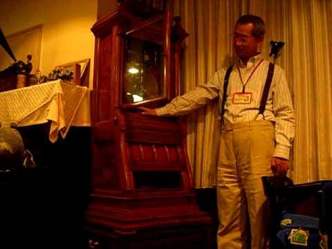 日本最古のオルゴールで演奏会 1870年