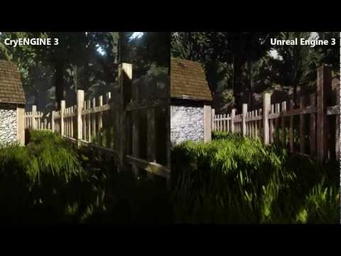 [Comparison] CryENGINE 3 vs. Unreal Engine 3
