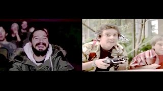 Best Moments: Shia LaBeouf reacting to The Even Stevens Movie!