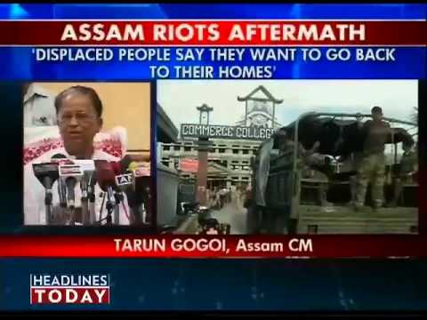 Assam situation improving fast: Tarun Gogoi