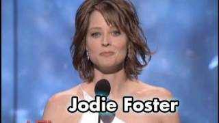 Jodie Foster Salutes Robert De Niro at AFI Life Achievement Award