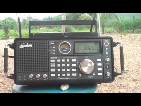 12025 kHz Maybe Radio Liberty in Russian transmitted from Biblis, Germany