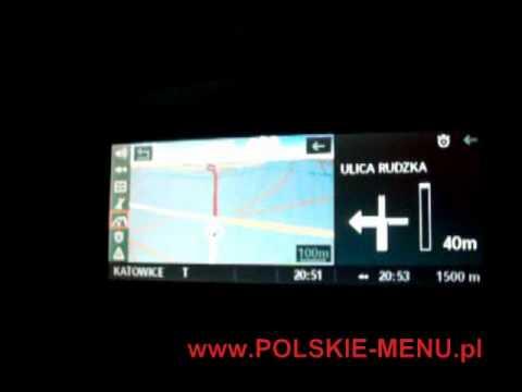 BMW PROFESSIONAL POLISH VOICE POLSKI LEKTOR E60 E90 X5 X6 E70 www.nawigacjakrakow.pl