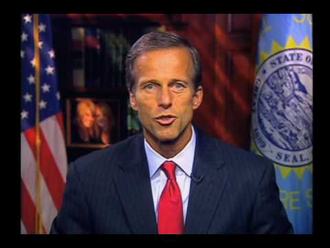 Sen. John Thune (R-SD) Delivers Weekly Republican Address On Health Care