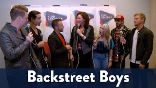Backstage with the Backstreet Boys at Jingle Ball 2016! | KiddNation