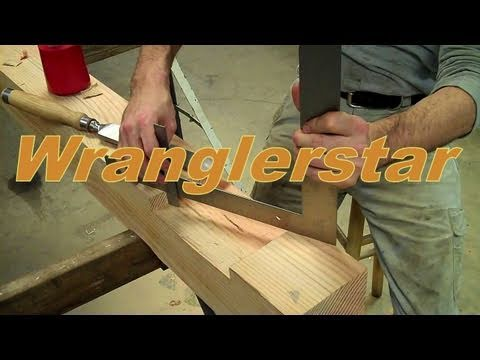 Trees To Timber Frame Cabin Off-grid Homestead Project Notching