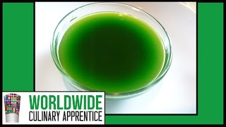 How to make Scallion Oil-How to Make Chive oil-Green Onion Oil-Cooking Classes